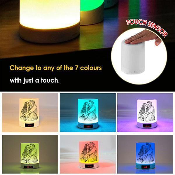 Bluetooth - Personalized Photo Music Night Light